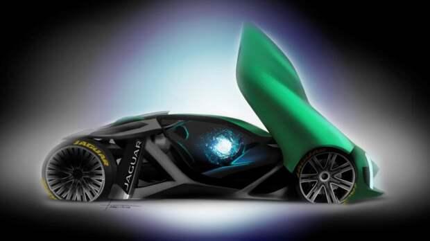 «Голый» Jaguar – автомобиль будущего
