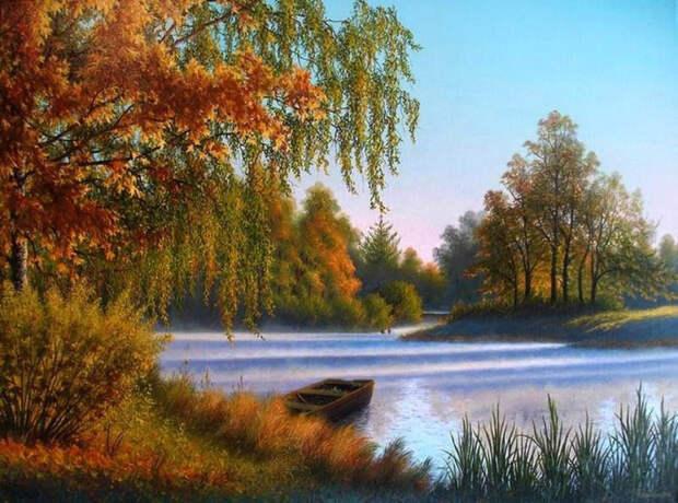 Чиканов В.Осень золотая (700x519, 434Kb)