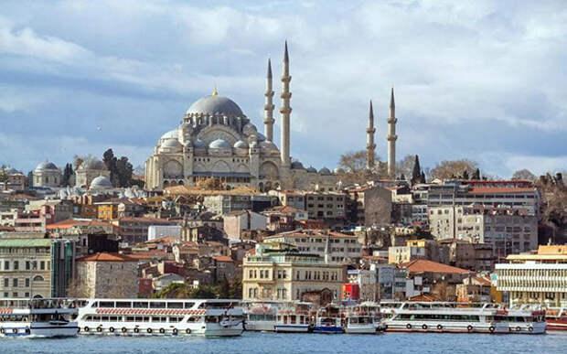 Стамбул-Константинополь - столица трех империй и город на двух континентах