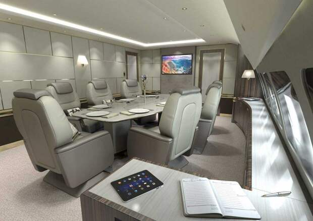 Внутри пяти самых роскошных частных самолетов в мире