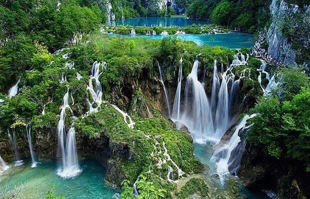 Плитвицкие озёра (Хорватия) (2)