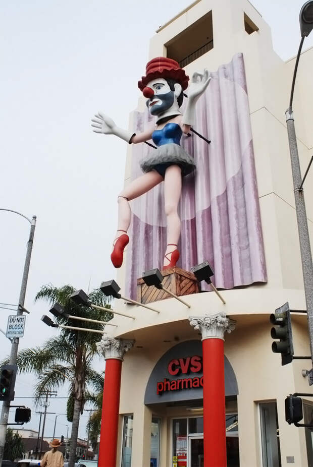 Клоун в пачке, Лос-Анджелес, США, Северная Америка и Карибы