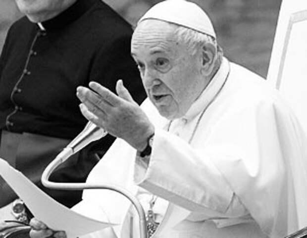 Папа Римский выступил за снятие запрета на однополые браки