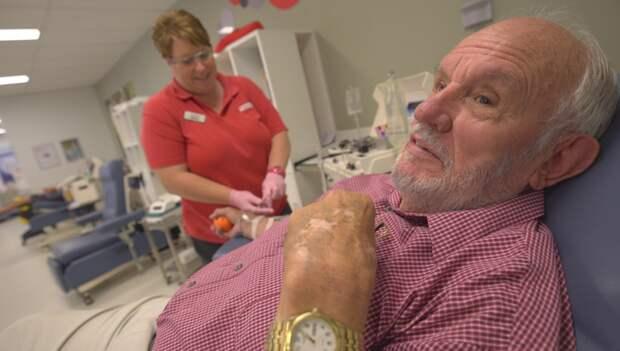Тот, о ком история умалчивает... А ведь этот мужчина спас жизни более 2 миллионов младенцев!   джеймс гаррисон, донор, младенцы, спасение