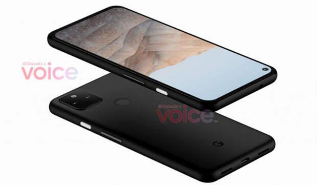 Google Pixel 5a почти не отличается от предшественника внешне
