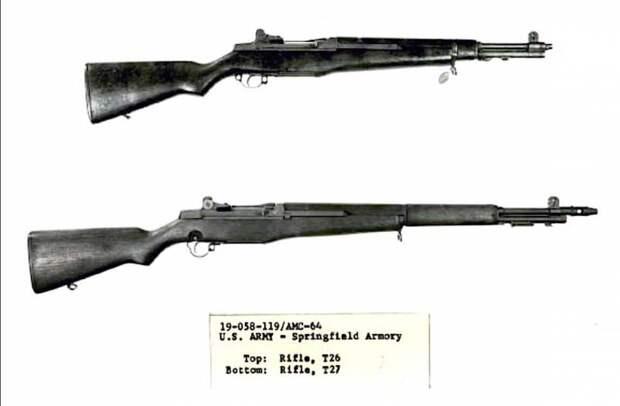 M1E5 и T26. Карабины на базе винтовки M1 Garand