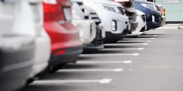 В апреле на девяти улицах Аэропорта введут платные парковочные места