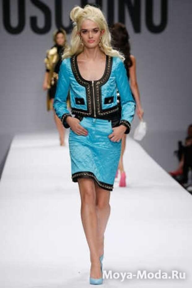 Модные юбки весна-лето 2015 Moschino