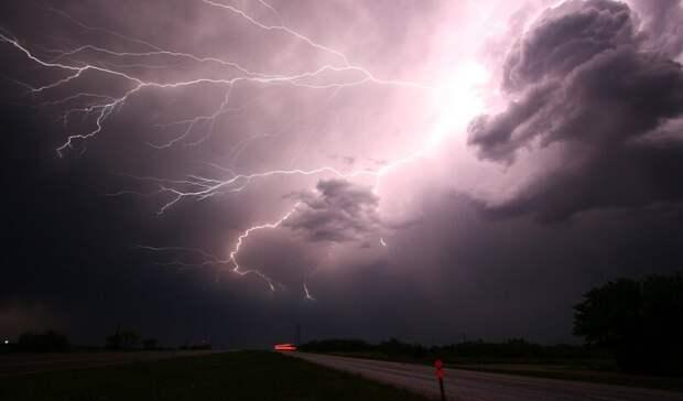 Дожди сгрозами сохранятся наСтаврополье вближайшие дни