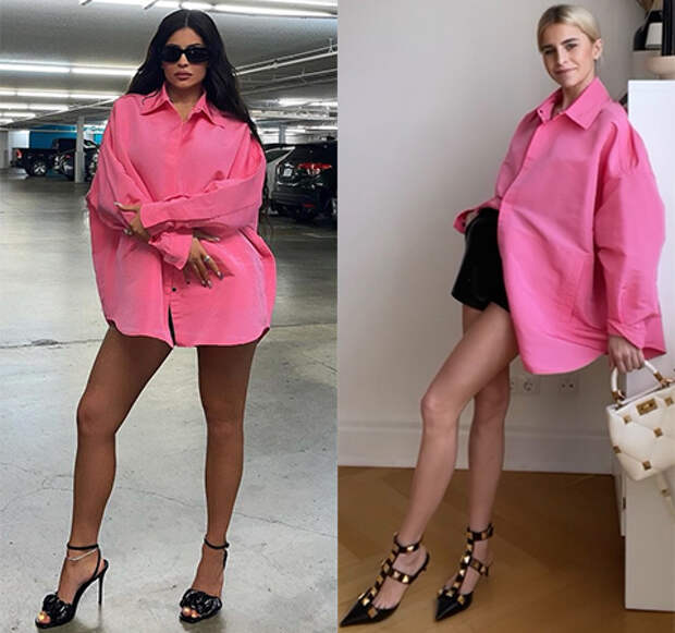 Модная битва: Кайли Дженнер против Каролин Даур