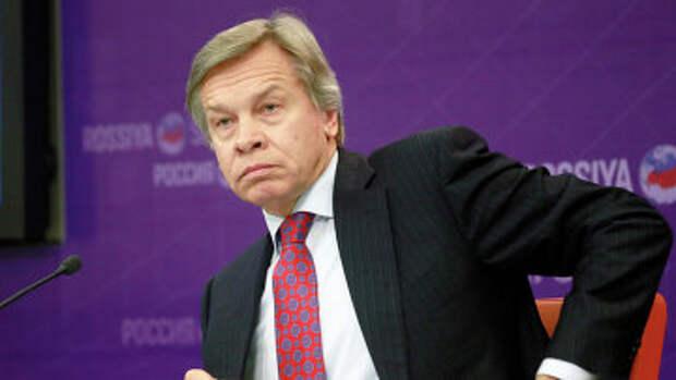 Председатель комитета Государственной Думы РФ по международным делам Алексей Пушков. Архивное фото.