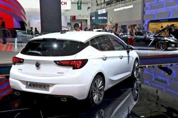 2016 Opel Astra: мощнее, компактнее, богаче (ФОТО)
