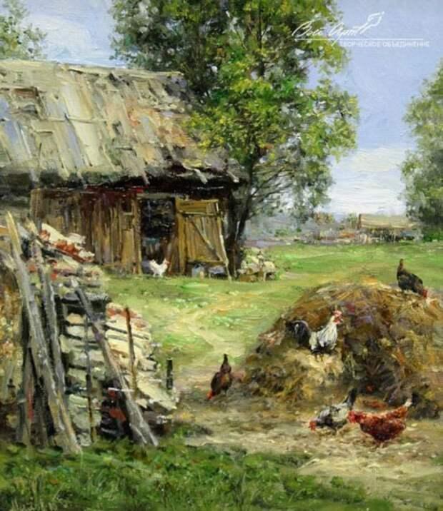 пейзажи художник Сергей Малов - 14