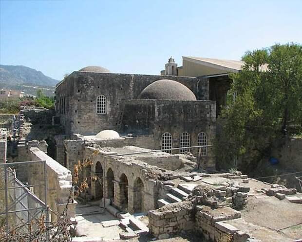 Храм святого Николая в Демре, Турция