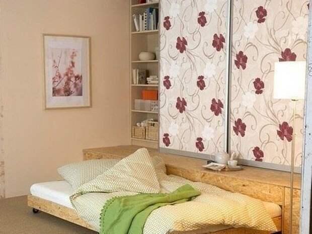 шкаф и диван-кровать - мебель своими руками