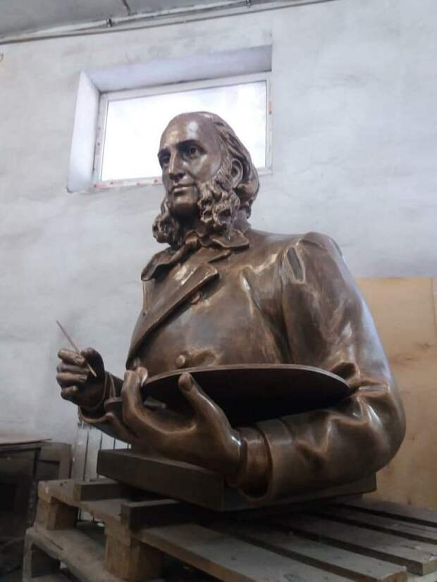 Памятник Ивану Айвазовскому появится в аэропорту Симферополя
