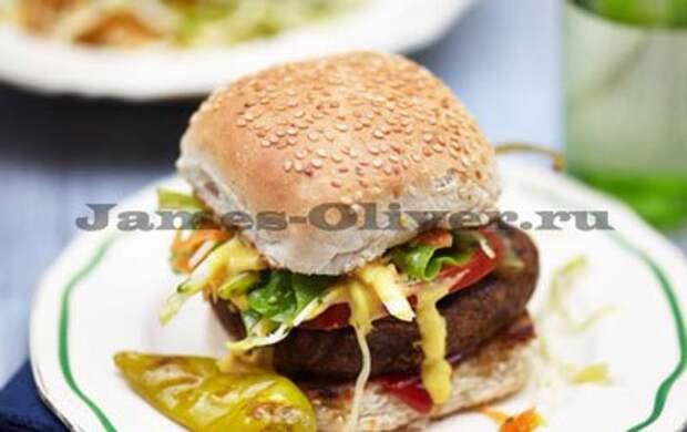 Лучший гамбургер «Фалафель»