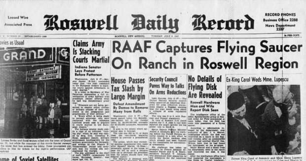 В Розуэлле возможно упал не НЛО, а аппарат Третьего рейха