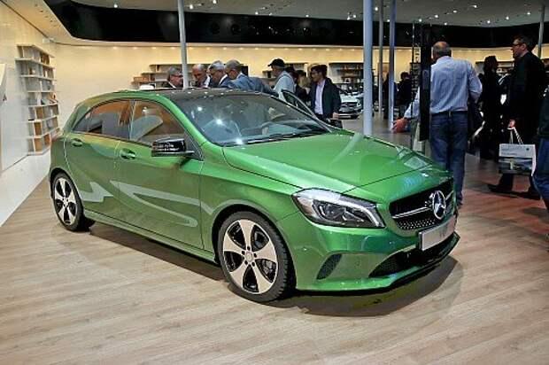 Mercedes-Benz A-класса освежили снаружи и изнутри