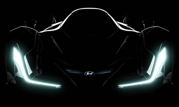 Концепт Hyundai продемонстрирует производительные возможности бренда