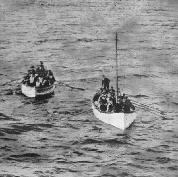 Шлюпки Титаника