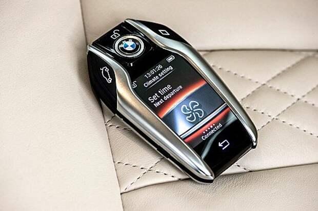 Общаемся жестами с новым BMW 7-й серии