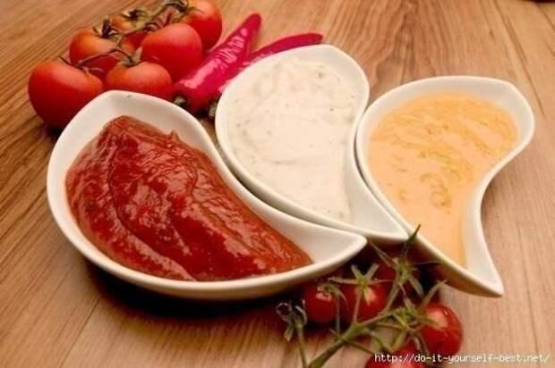 Такие разные соусы(10 вариантов разных соусов).
