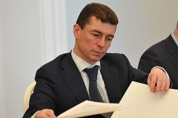 Глава Минтруда РФ Максим Топилин