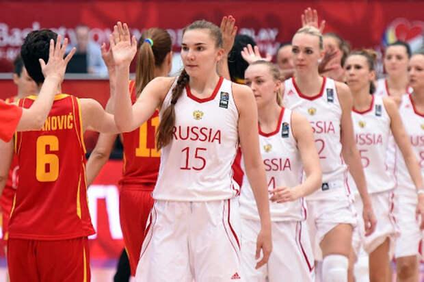 Баскетбол, Евробаскет, женщины, Россия - Чехия, Прямая текстовая онлайн трансляция