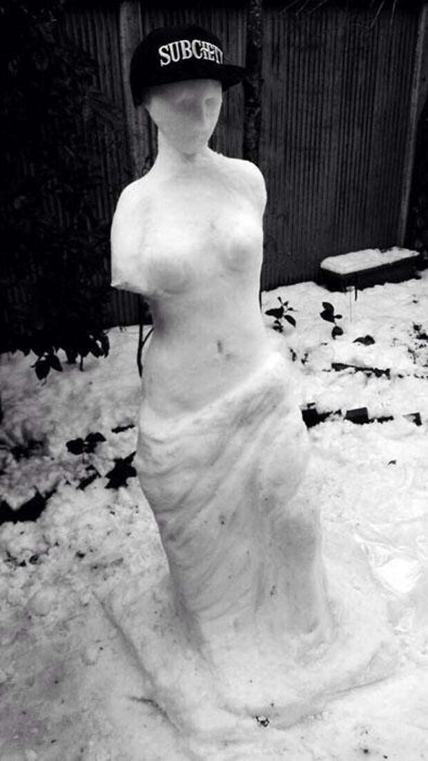 Снежно-нежное искусство