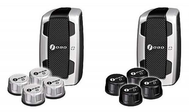 На выбор предлагается два цветовых исполнения колпачков - серебристое и черное. Fobo Tire продукт универсальный - его можно использовать для вело-, мото- и прочей техники с надувными колесами.