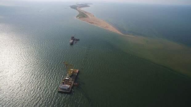 Для строительства перехода через Керченский пролив возведут ряд вспомогательных мостов