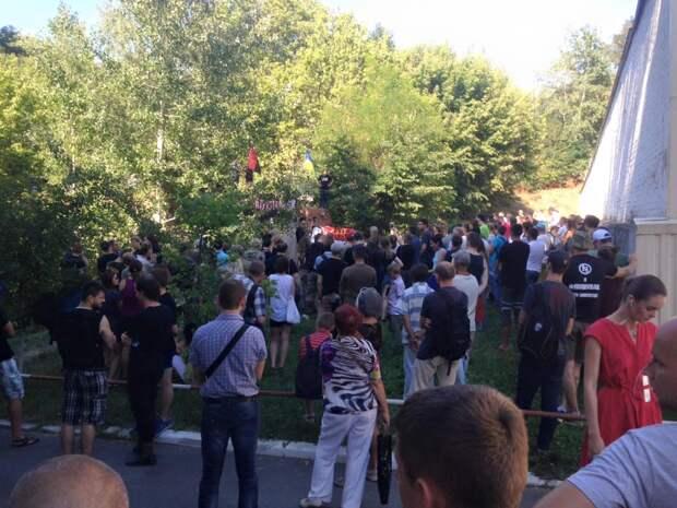 В Киеве прошел концерт в поддержку обвиняемых в убийстве Бузины