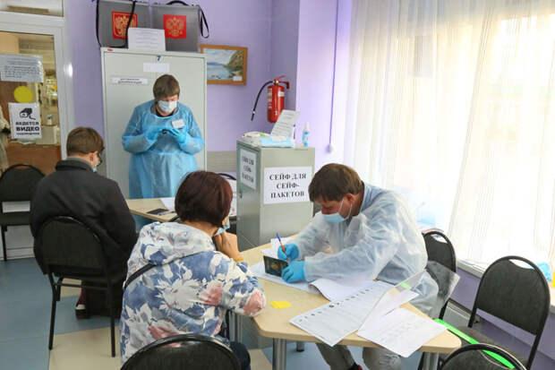 16,29 % граждан Иркутской области проголосовали на выборах в Госдуму к трем дня 18 сентября