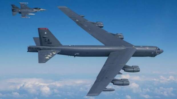 """""""Polar Growl"""". Тренировка воздушной войны с Россией.. Б-52Н над Арктикой.."""