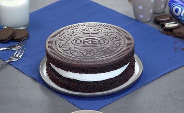 Шоколадный торт из какао и печенья. Запекаем коржи, охлаждаем и получаем десерт как из кондитерской