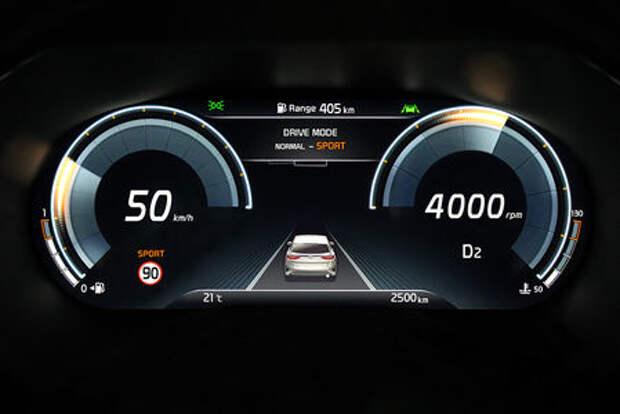 Приборная панель Kia XCeed будет цифровой