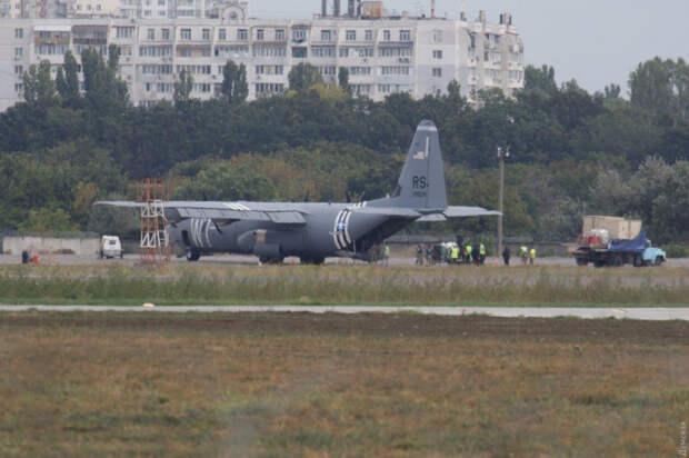 Самолёты НАТО прибывают на Украину