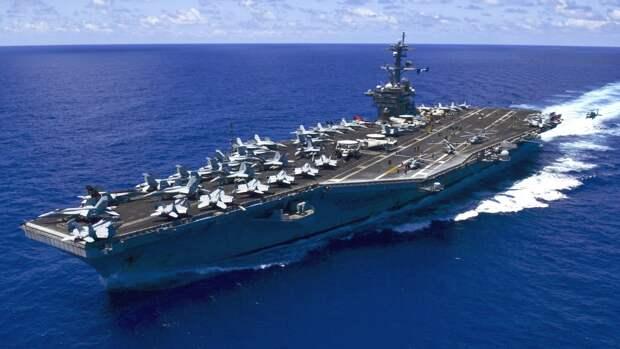 ВМС США впервые за 30 лет провели ударные испытания авианосца