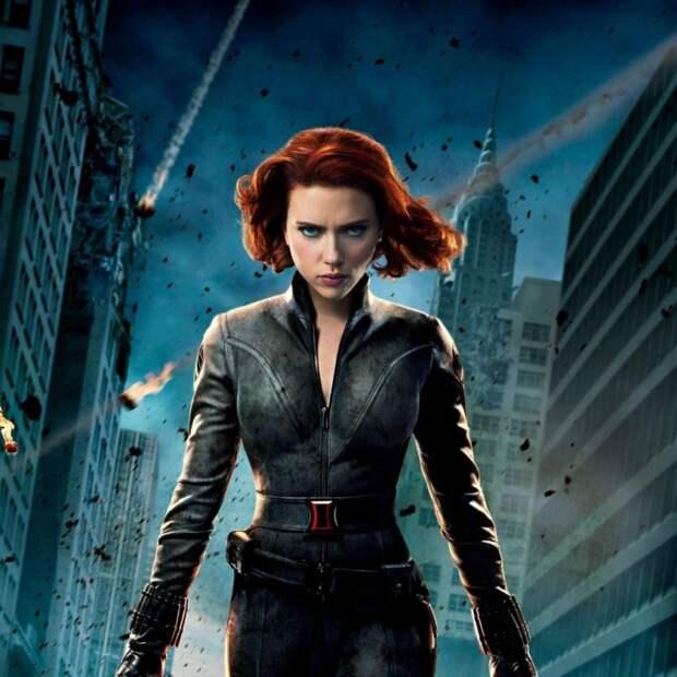 """18. Черная вдова - """"Мстители"""" героиня, научная фантастика"""