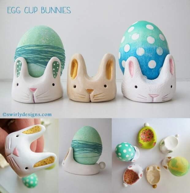 картинки как сделать подставку для яиц