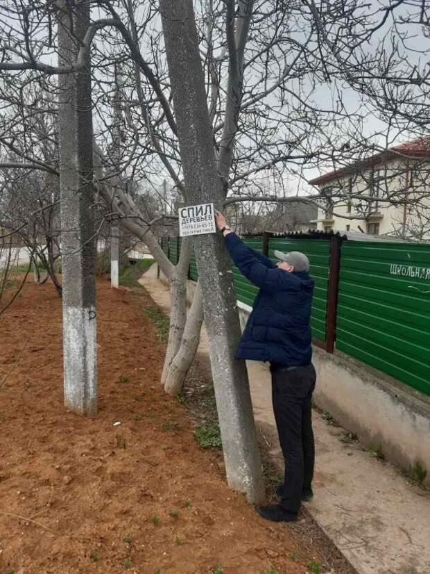 Администрация Мазанского сельского поселения ликвидировала незаконную наружную рекламу на территории поселения