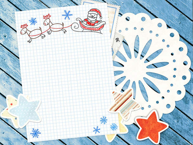 Открытка Деду Морозу своими руками: идеи с фото и шаблонами