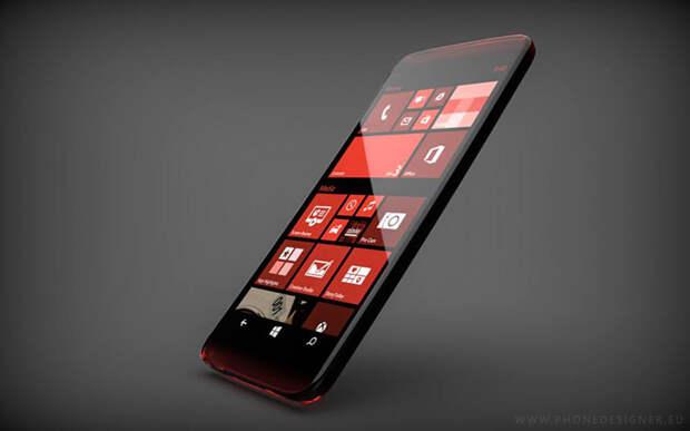 В Microsoft Lumia 940XL используется сканер радужки