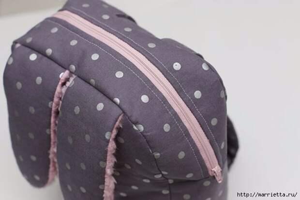 Рюкзачок с ушками кролика для маленькой девочки (21) (600x400, 79Kb)