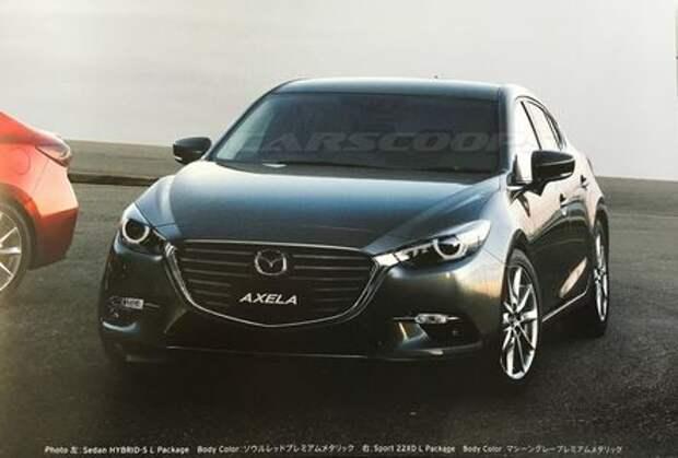 Mazda 3 наведет марафет