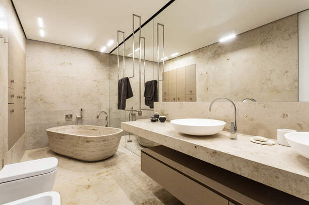 Современный Ванная комната by Дина Межевова