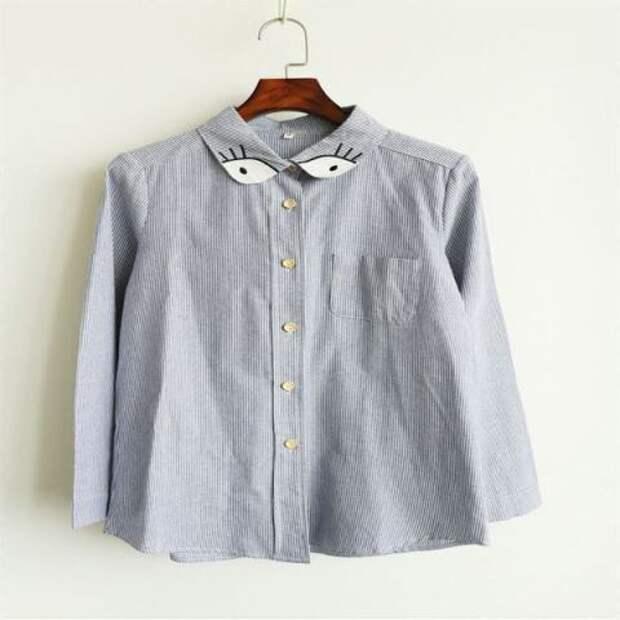 Детали и идеи. Блузки, водолазки, футболки... 5 (трафик)