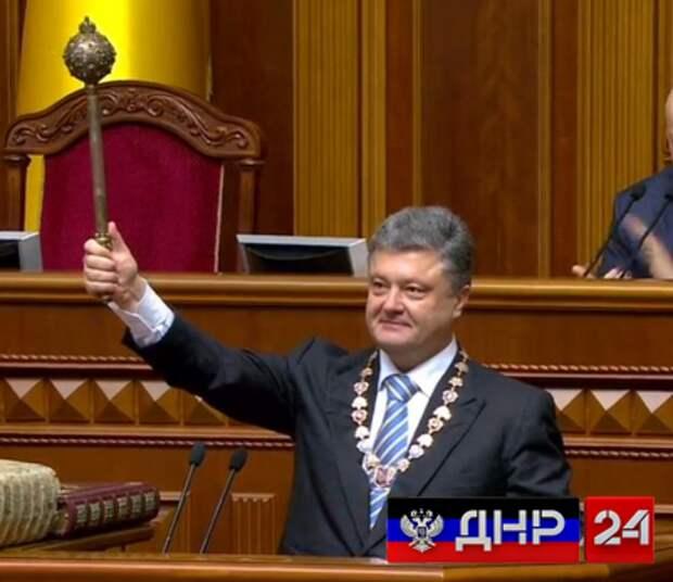 Порошенко подписал соглашение с Сатаной.