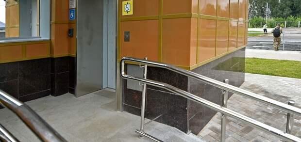 В 12 домах СВАО установили платформы для инвалидов